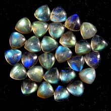Natural Labradorite10MM Size Faceted Cut Gemstone