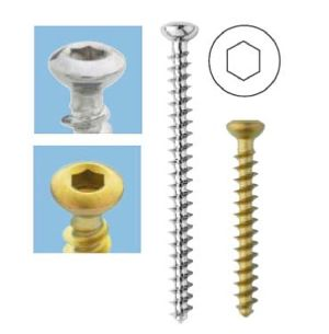 130-F Cancellous Screw 3.5mm (Full Th.)