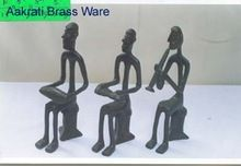 Sitting Musician Figurines thin