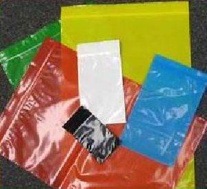 Bopp Color Zip lock Bags 01