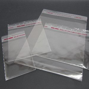 Poly Bags with Sealing Tape