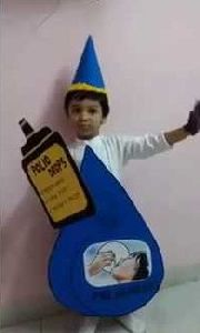 Polio Drop Fancy Dress
