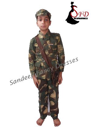 Soldier Fancy Dress 02