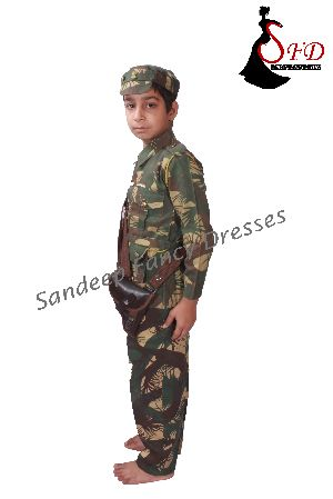 Soldier Fancy Dress 04