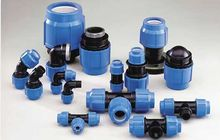 HDPE PP COMPRESSION FITTINGS
