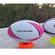 Customized branding match rugby balls
