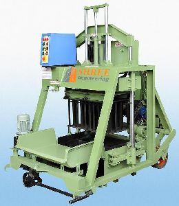 860mm Double Vibrator Concrete Block Making Machine