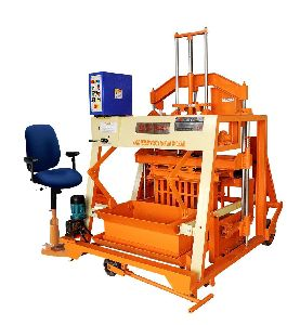 860mm Triple Vibrator Auto Feeder Double Stroke Concrete Block Making Machine