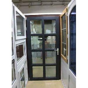 Black UPVC Casement Doors