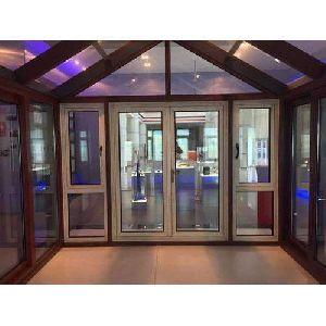 White UPVC Casement Doors