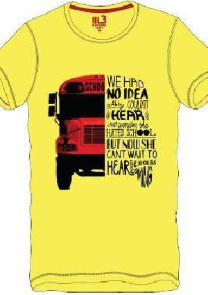 Mens Round Neck T-Shirt 08
