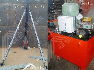 Morocco Hydraulic Tank Lift Jacking System