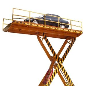 Single Scissor Car Lift
