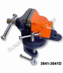 TABLE VICE CLAMP TYPE REVOLVING