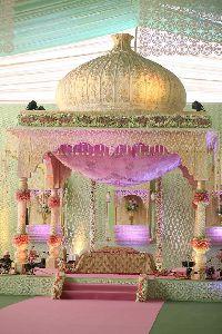 Gurudwara Style Wedding Mandap