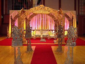 Lord Ganesha Style Wedding Mandap