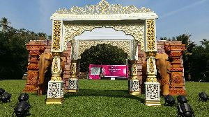 Royal Maharaja Style Mandap with Elephants