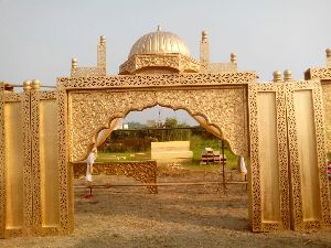 Taj Mahal theme designed Entrance Decoration Gate