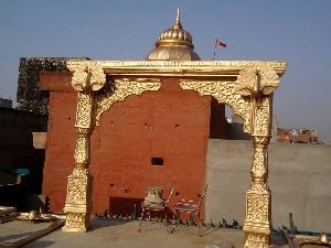 Rajwada Style Wedding Entrance Decoration Gate