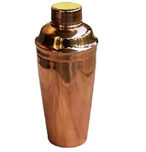 COCKTAIL SHAKER copper plated