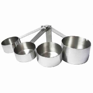 Stainless Steel Measuring Patti Handle Cup