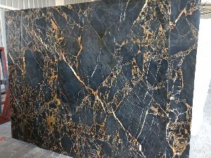 Golden Portoro Marble Slabs 01