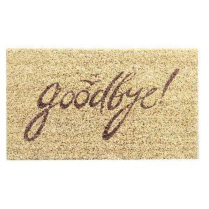 Coir Goodbye Door Mats