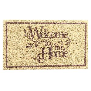PVC Backed Welcome Coir Mat 10