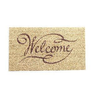 PVC Backed Welcome Coir Mat 12