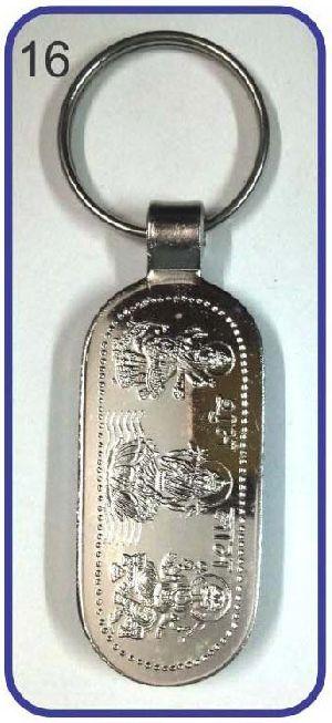 16 Metal Keychain