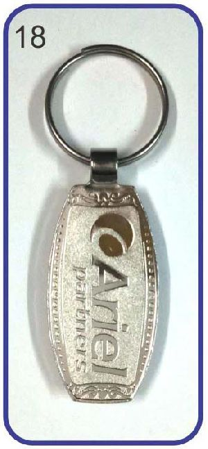 18 Metal Keychain