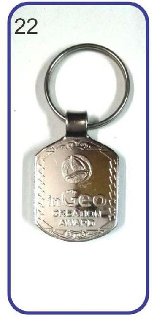 22 Metal Keychain