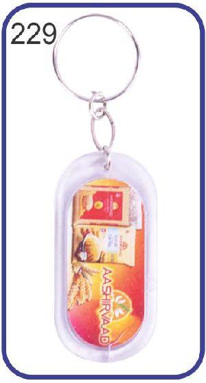 229 Personalized Photo Keychain