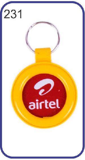 231 Personalized Photo Keychain