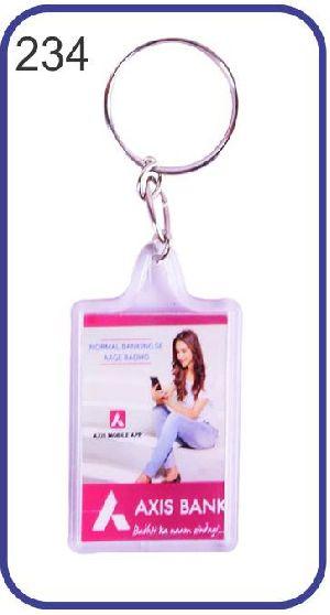 234 Personalized Photo Keychain