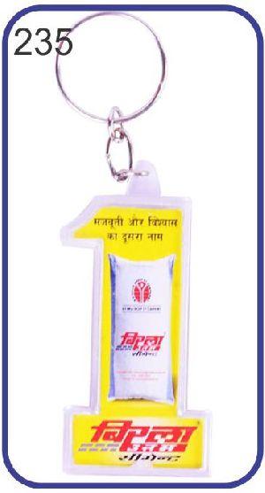 235 Personalized Photo Keychain