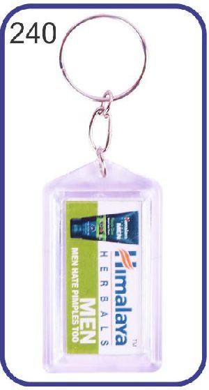 240 Personalized Photo Keychain