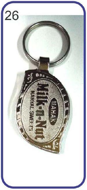 26 Metal Keychain