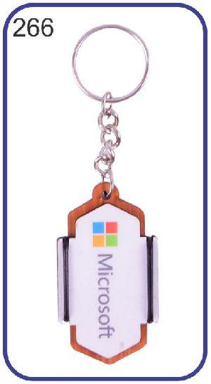 266 Wooden Keychain