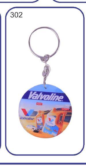 302 Acrylic Keychain