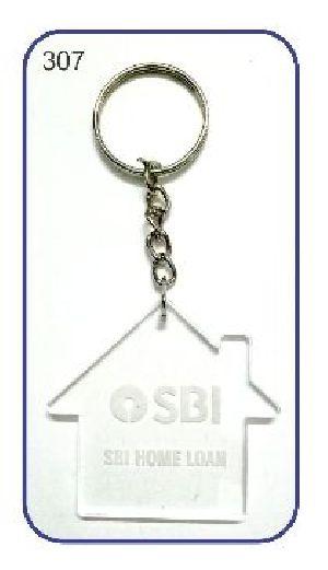 307 Acrylic Keychain