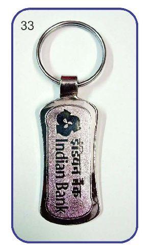 33 Metal Keychain