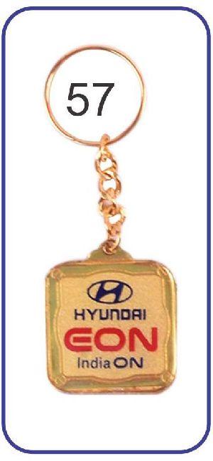 57 Metal Keychain