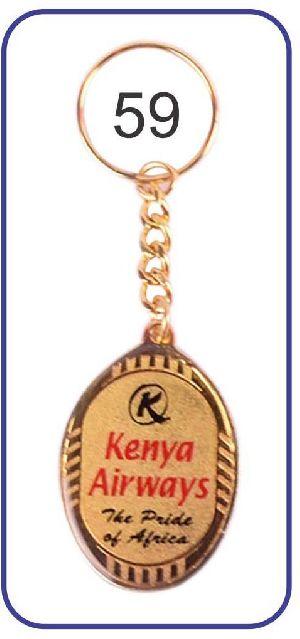 59 Metal Keychain