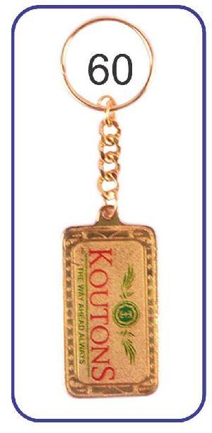 60 Metal Keychain