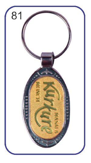 81 Metal Keychain
