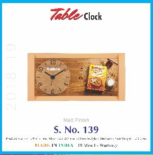 Table Clock 06