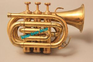 Brass Pocket Cornet