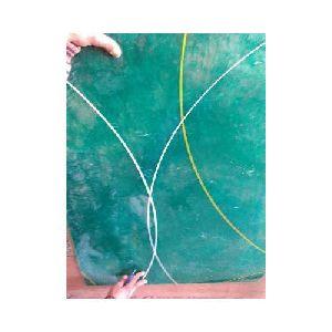 Handmade Green Fiberglass Sheets 03