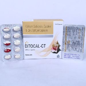 Calcium Carbonate, Calcitriol and Zinc Soft Gel Capsules